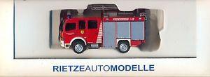 【送料無料】模型車 モデルカー スポーツカー アテーゴrietze 61154 feuerwehr, wachstedt mb atego