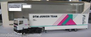 【送料無料】模型車 モデルカー スポーツカー レーシングカートランスポータージュニアチームherpa 035804 daf 95 renntransporter dtm juniorteam 187