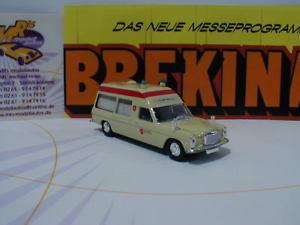 【送料無料】模型車 モデルカー スポーツカー ベンツベージュマルタbrekina starmada 13807 mercedesbenz 8 beige krankenwagen malteser 187