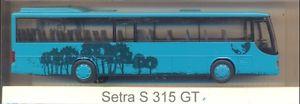 【送料無料】模型車 モデルカー スポーツカー セトラセトラグアテマラモデルrietze setra setra s 315 gt werbemodell