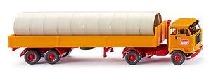 【送料無料】模型車 モデルカー スポーツカー トラックボルボセミトレーラトタwiking 051501 h0 lkw volvo f88 alupritschensattelzug blling