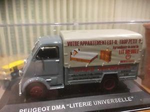 【送料無料】模型車 モデルカー スポーツカー プジョーユニバーサルpeugeot dma 143 avec boite literie universelle