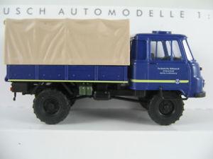 【送料無料】模型車 モデルカー スポーツカー ブッシュオーシャンビューベルリンリヒテンベルクbusch 50224 robur lo 2002a 1973 thw ov berlinlichtenberg 187h0 neuovp