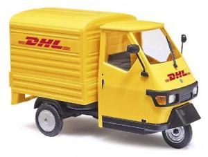 【送料無料】模型車 モデルカー スポーツカー ブッシュbusch piaggio ape 50 143 dhl 60056