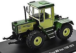 【送料無料】模型車 モデルカー スポーツカー mercedes benz mb trac 1100 1975 traktor schlepper grn green 143