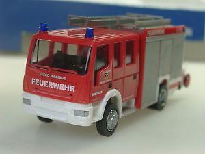 【送料無料】模型車 モデルカー スポーツカー rietze iveco alufire feuerwehr markt pressig 61226 187 sonderpreis
