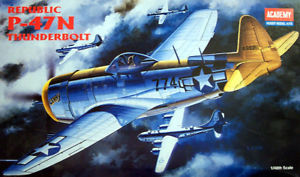 【送料無料】模型車 モデルカー スポーツカー アカデミーacademy 148 aereo p47n republic thunderbolt 2155