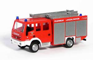 【送料無料】模型車 モデルカー スポーツカー ユーロrietze 60689 iveco eurofire feuerwehr langenlonsheim 187