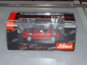 【送料無料】模型車 モデルカー スポーツカー モデルschuco 143 modellauto bmw z3 en rot neu mit ovp 04141