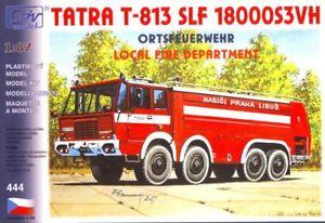 【送料無料】模型車 モデルカー スポーツカー タトラキットsdv 10444 bausatz tatra t813 8x8 slf, feuerlschfahrzeug mastab 187