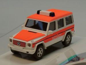 【送料無料】模型車 モデルカー スポーツカー ブッシュメルセデスモデルbusch mercedes gmodell, notarzt 51411 187