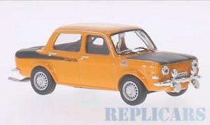 【送料無料】模型車 モデルカー スポーツカー ボックスラリーオレンジマットブラックwhite box wb168 simca rallye 2, orangemattschwarz, 1976
