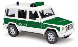 【送料無料】模型車 モデルカー スポーツカー ブッシュメルセデスクラスbusch 51416 mercedes gklasse 90, bundesgrenzschutz 187 h0