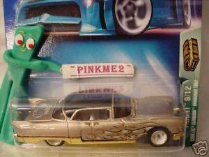 【送料無料】模型車 モデルカー スポーツカー ホットホイールトレジャーハントキャデラックエルドラドブロアムhot wheels treasure hunt cadillac eldorado brougham 57 1957