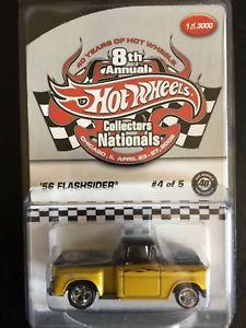 【送料無料】模型車 モデルカー スポーツカー コレクタタイヤフラッシュneues angebothot wheels 8th annual collectors nationals 40th anniv 56 flashsider 1 of 3000
