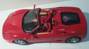 【送料無料】模型車 モデルカー スポーツカー 118 hot wheels 2002 ferrari 360 spider rosso red