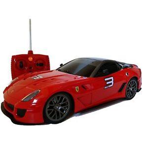 【送料無料】模型車 モデルカー スポーツカー リモートフェラーリボックスカーxq rc radio remote control car ferrari 599xx red 118 in box car 1187