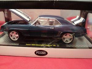 【送料無料】模型車 モデルカー スポーツカー マシンシボレーカマロスケールm2 machines 1969 chevrolet camaro rs foose design 124 scale nib