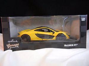 【送料無料】模型車 モデルカー スポーツカー ガレージモデルカーマクラーレンhallmark garage model car mclaren p1 nib