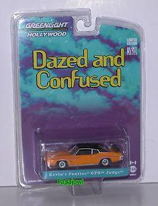 【送料無料】模型車 モデルカー スポーツカー greenlight hollywood dazed and confused kevins 1970 pontiac gto judge 70 goat
