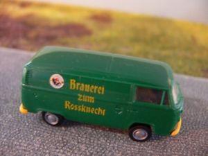 【送料無料】模型車 モデルカー スポーツカー フォルクスワーゲンロスボックス187 brekina vw t2 brauerei zum rossknecht kasten