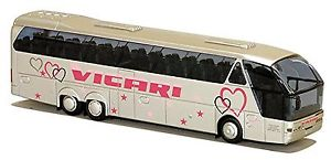 【送料無料】模型車 モデルカー スポーツカー グンターローデンブルックneoplan starliner n 516 shdl gnter vicari rodenbach reisebus 187 awm