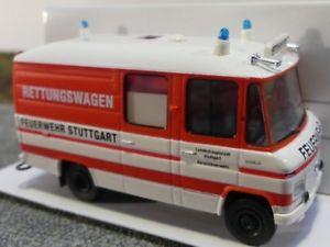 【送料無料】模型車 モデルカー スポーツカー シュトゥットガルト187 brekina mb l 508 rtw feuerwehr stuttgart 36905