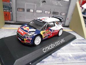 【送料無料】模型車 モデルカー スポーツカー シトロエンラリードイツ#ローブレッドブルcitroen ds3 wrc rallye deutschland winner 2012 1 loeb red bull norev 143