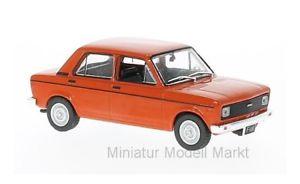 【送料無料】模型車 モデルカー スポーツカー ホワイトボックスフィアットヨーロッパ251 whitebox fiat 128 europa hellrot 1978 143