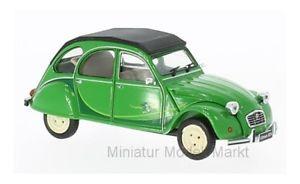 【送料無料】模型車 モデルカー スポーツカー 184 whitebox citroen 2cv grn i fly bleifrei 1986 143