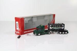 【送料無料】模型車 モデルカー スポーツカー herpa scania 144 hauber tankcontainersattelzug rinnen nr 146609 h8531