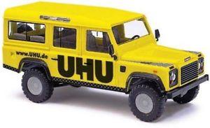 【送料無料】模型車 モデルカー スポーツカー 50306 busch ho scala 187 land rover defender collanti uhu