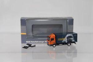 【送料無料】模型車 モデルカー スポーツカー herpa man tgl kerwagen iaa 2008 transport worldwide werbemodell  h3807