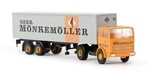 【送料無料】模型車 モデルカー スポーツカー brekina 81037  187 mb lps 1620 kersz mnkemller neu