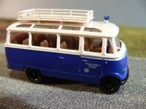 【送料無料】模型車 モデルカー スポーツカー ニュルンベルクバス187 brekina mb 319 thw nrnberg bus 36162