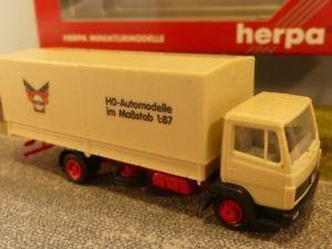【送料無料】模型車 モデルカー スポーツカー トラック187 herpa mb 813 herpa planen lkw 142335h