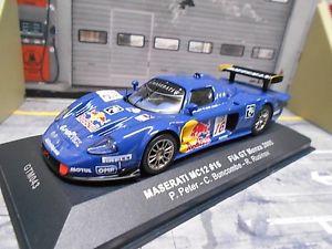 【送料無料】模型車 モデルカー スポーツカー マセラティマセラティモンツァ#ピーターレッドブルネットワークmaserati mc12 fia gt monza 2005 16 peter buncombe rusinov red bull ixo 143