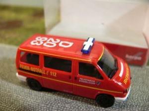 【送料無料】模型車 モデルカー スポーツカー バスデュッセルドルフ187 herpa vw t4 feuerwehr dsseldorf bus 046749