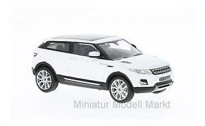 【送料無料】模型車 モデルカー スポーツカー 227 whitebox land rover range rover evoque coupe weiss 2011 143
