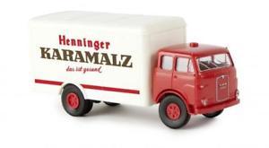 【送料無料】模型車 モデルカー スポーツカー brekina man 10212 f ker henniger karamalz 78371