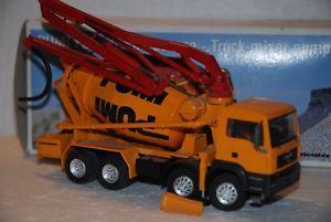 【送料無料】模型車 モデルカー スポーツカー コンラッド150 conrad camion betoniera pompa man 4 assi