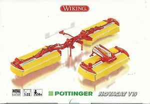 【送料無料】模型車 モデルカー スポーツカー タイプwiking 132 falciatrice pottinger novacat v10 anni 14 art 7341