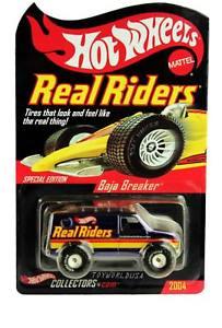 【送料無料】模型車 モデルカー スポーツカー ホットホイールリアルライダーバハブレーカ2004 hot wheels real riders baja breaker special edition