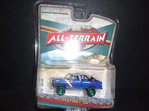 【送料無料】模型車 モデルカー スポーツカー ライトフォードフォードチェイスレーシングgreenlight ford f100 1970 ford racing all terrain 35070 b 164 chase