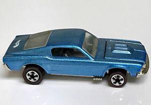 【送料無料】模型車 モデルカー スポーツカー ホットホイールカスタムムスタングビンテージシリーズミントリリースhot wheels redline lt blue custom mustang vintage series mint china release