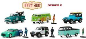 【送料無料】模型車 モデルカー スポーツカー ホビーショップシリーズgreenlight hobby shop series 2