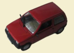 【送料無料】模型車 モデルカー スポーツカー ラダモデルsu waz 1111 lada ada oka modell 143 aus metall kultowe auta prl 050