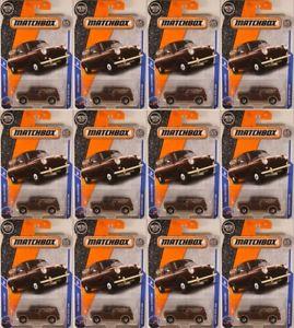【送料無料】模型車 モデルカー スポーツカー ァーマッチ#オースティンミニヴァンロットブリスターneues angebotmatchbox 27 austin mini van, 2018 issue lot of 12x in blisters