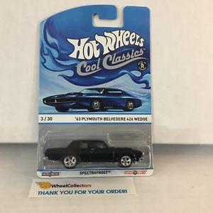 【送料無料】模型車 モデルカー スポーツカー カスタムメイドウェッジホットホイールcustom made * 63 belvedere 426 wedge * hot wheels cool classics * hb22
