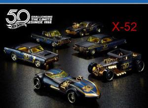 【送料無料】模型車 モデルカー スポーツカー ホットホイールブラックゴールドシリーズツインミルセット